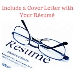Resume cover letter what should it include